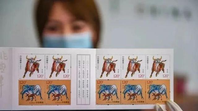"""属牛1985,时隔36年,牛年邮票之父再出山!""""生肖牛邮票""""话题直冲热搜"""