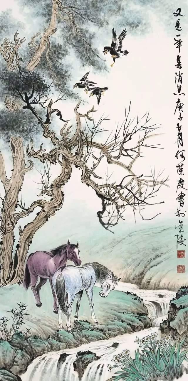 何荣庆 | 我与江苏省紫金书画院有缘