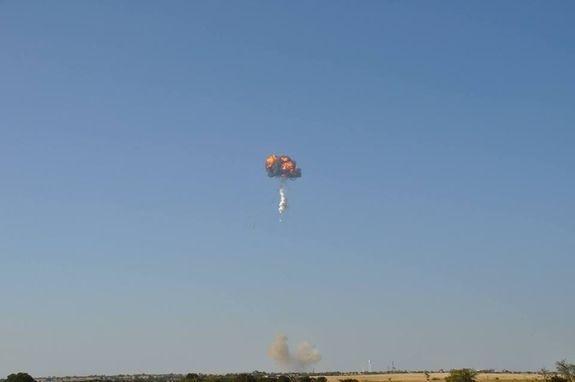 SpaceX的可回收运载火箭Falcon 9R发射战败