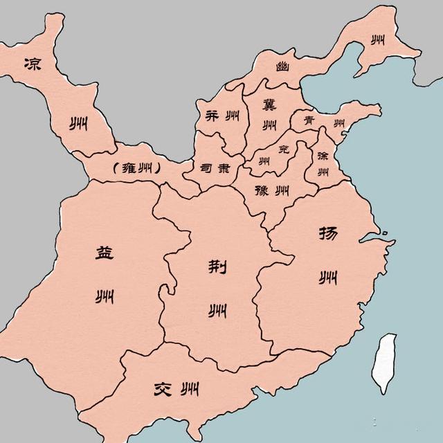 从地图看三国的演变:从东汉末年的割据到西晋的短暂统一