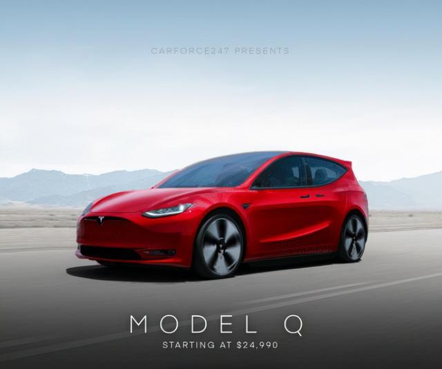 特斯拉要推新车 Model Q?售价2.5万美元,2023年上市
