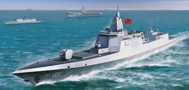中国终于出招,中国军舰首次进入日本海,用行动回应美日挑衅
