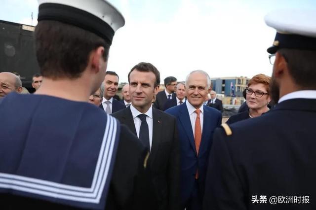 560亿欧潜艇大单泡汤!澳大利亚为抱美英大腿单方毁约法国