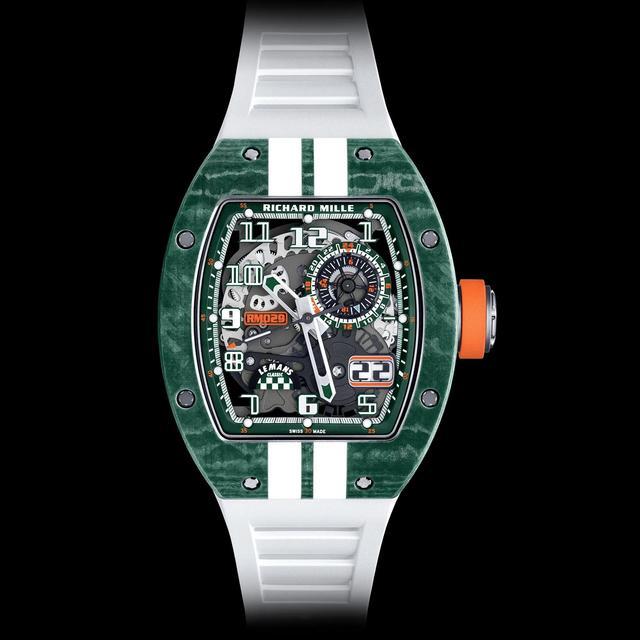 理查德·米勒出新款手表,土豪们准备好了么  第9张