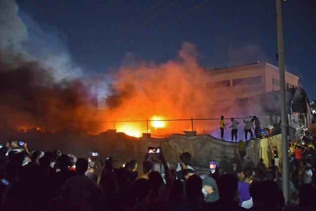"""""""图说""""一周国际热点:南非发生主要骚乱,德国遭遇""""死亡亡洪灾"""""""