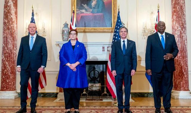 布林肯:美国不会让澳大利亚孤军奋战