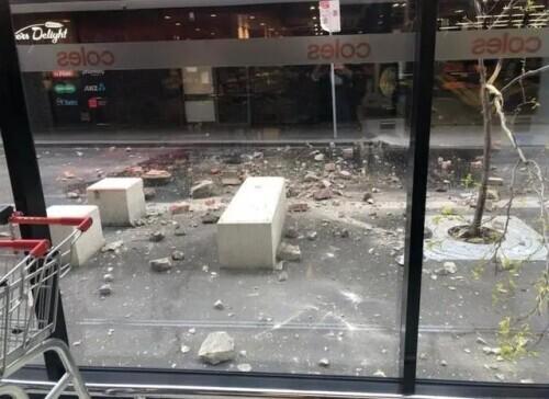 澳大利亚突发罕见地震