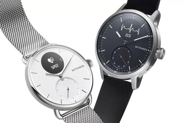 美国FDA核准ScanWatch 一款可监测心电图和血氧水平的夹杂型智能腕表