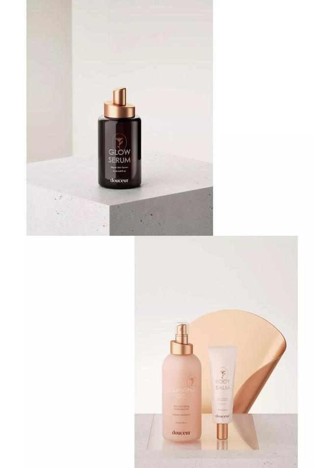 化妆品/护肤品类包装高雅而又大气