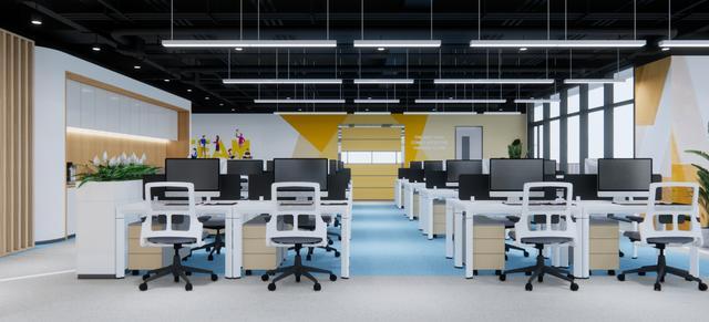 新作赏析 这么漂亮安详的办公室装修,高调秀始来