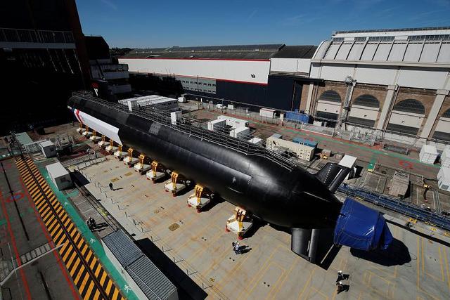 剑指中国,美英助力澳大利亚,合作建造8艘核潜艇,法国已被出卖