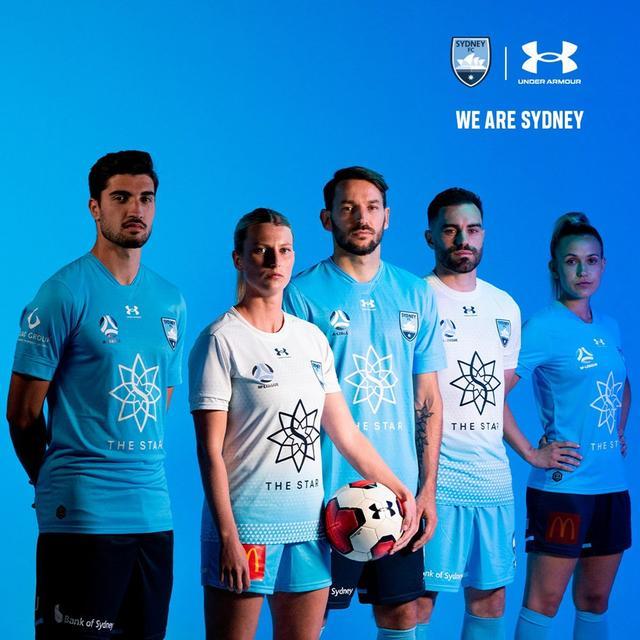 悉尼FC发布2021/22赛季主客场球衣
