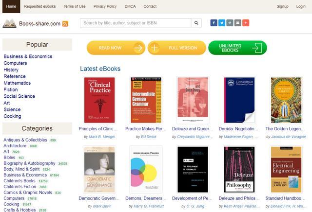 推荐9个英文原版书免费资源网站 世界读书日