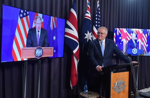 """澳大利亚""""硬气""""了?有美国撑腰,莫里森要求与中国谈话"""