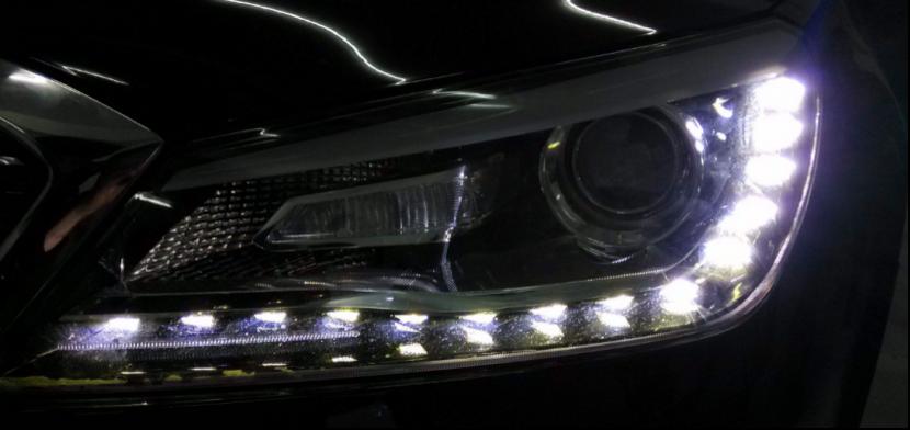 眼睛是心灵的窗户,这几款车的LED大灯Bulingbuling
