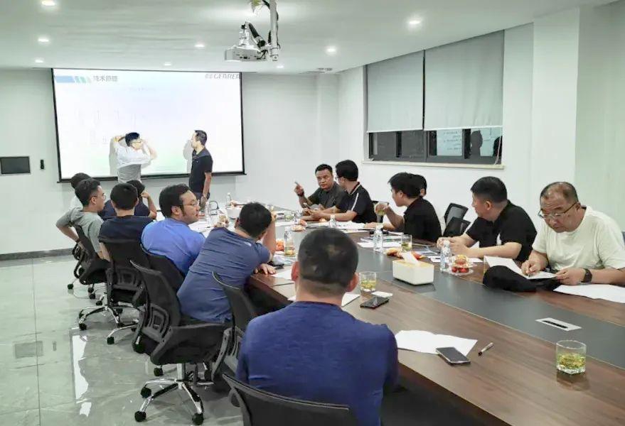 资讯丨上海建筑设计研究院大咖莅临格瑞考察指导