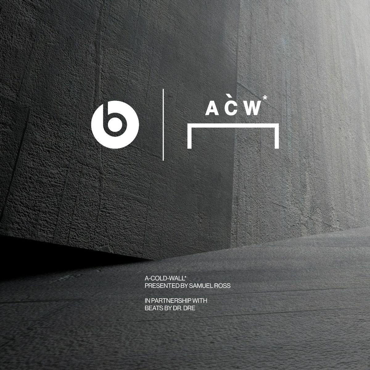 BEATS STUDIO3 WIRELESS新款上线 联名A-COLD-WALL演绎粗犷美学