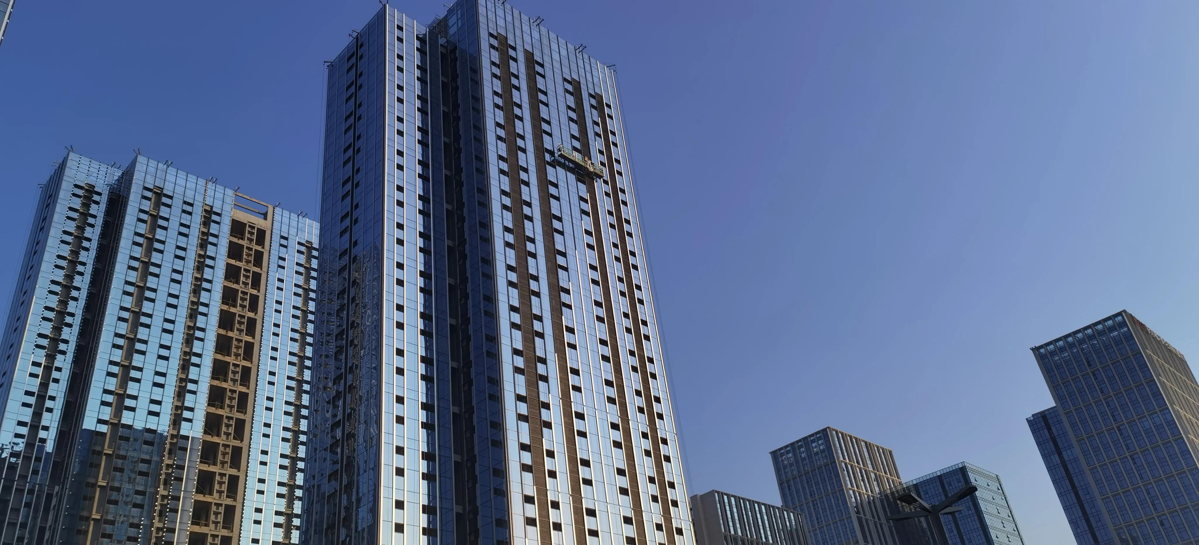 建筑风水学者曾祥裕点评赣州市区新出现最密集的玻璃幕墙高楼区域