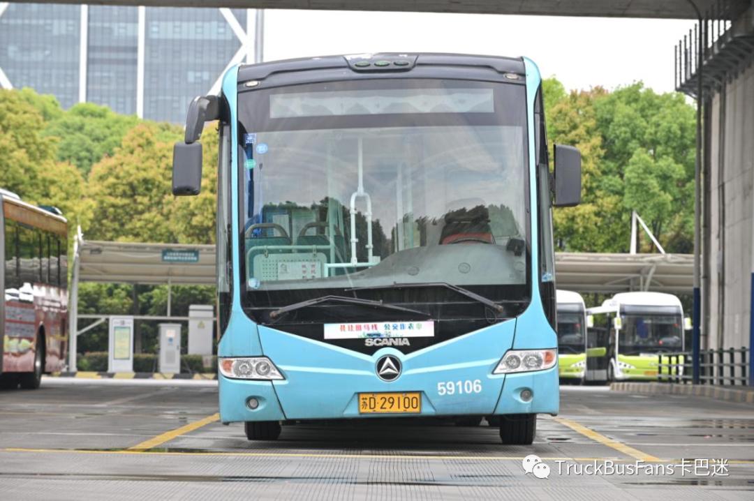 运输乘客人次过亿!细说常州常隆斯堪尼亚18米城市BRT公交