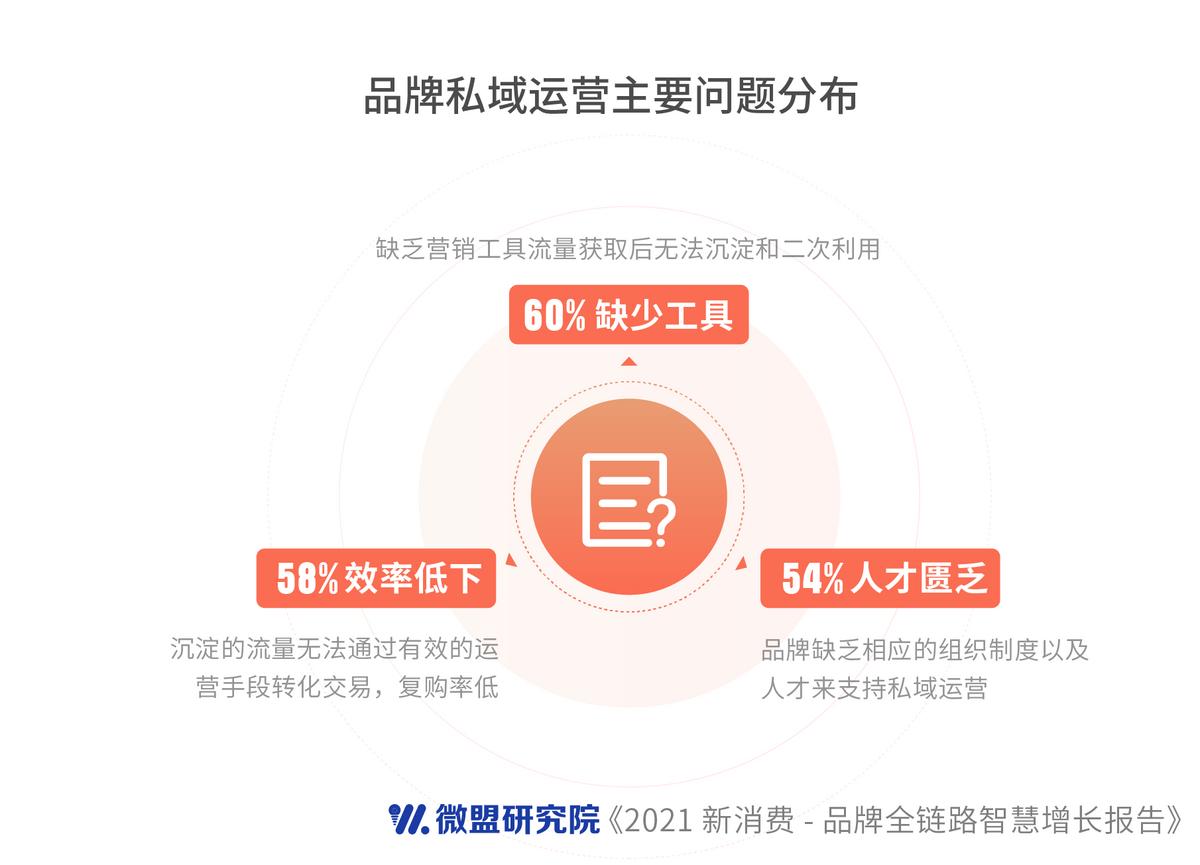 微盟发布新消费行业报告:私域破解品牌营销增长困扰