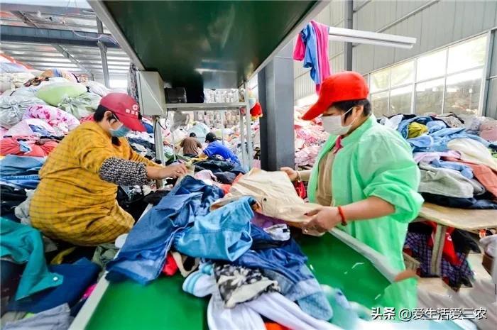 做废旧衣服回收,销路在哪里?卖价多少钱一吨?一文说清