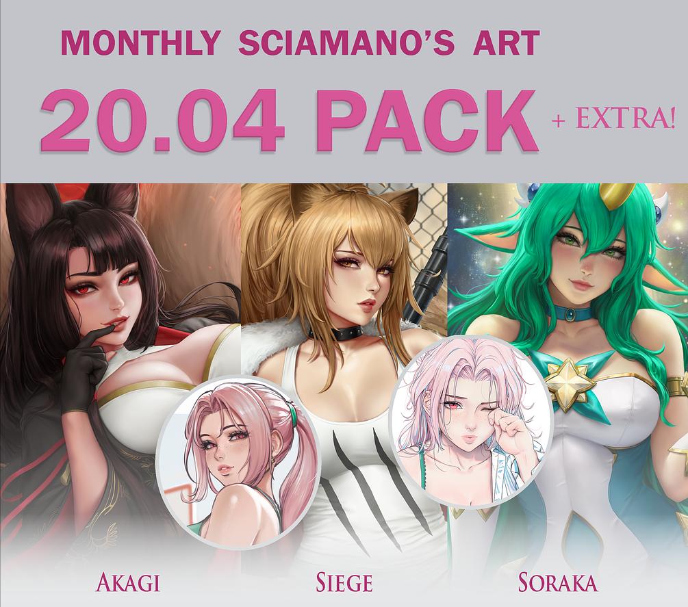 P站画师Sciamano240作品2020.4-6月欣赏