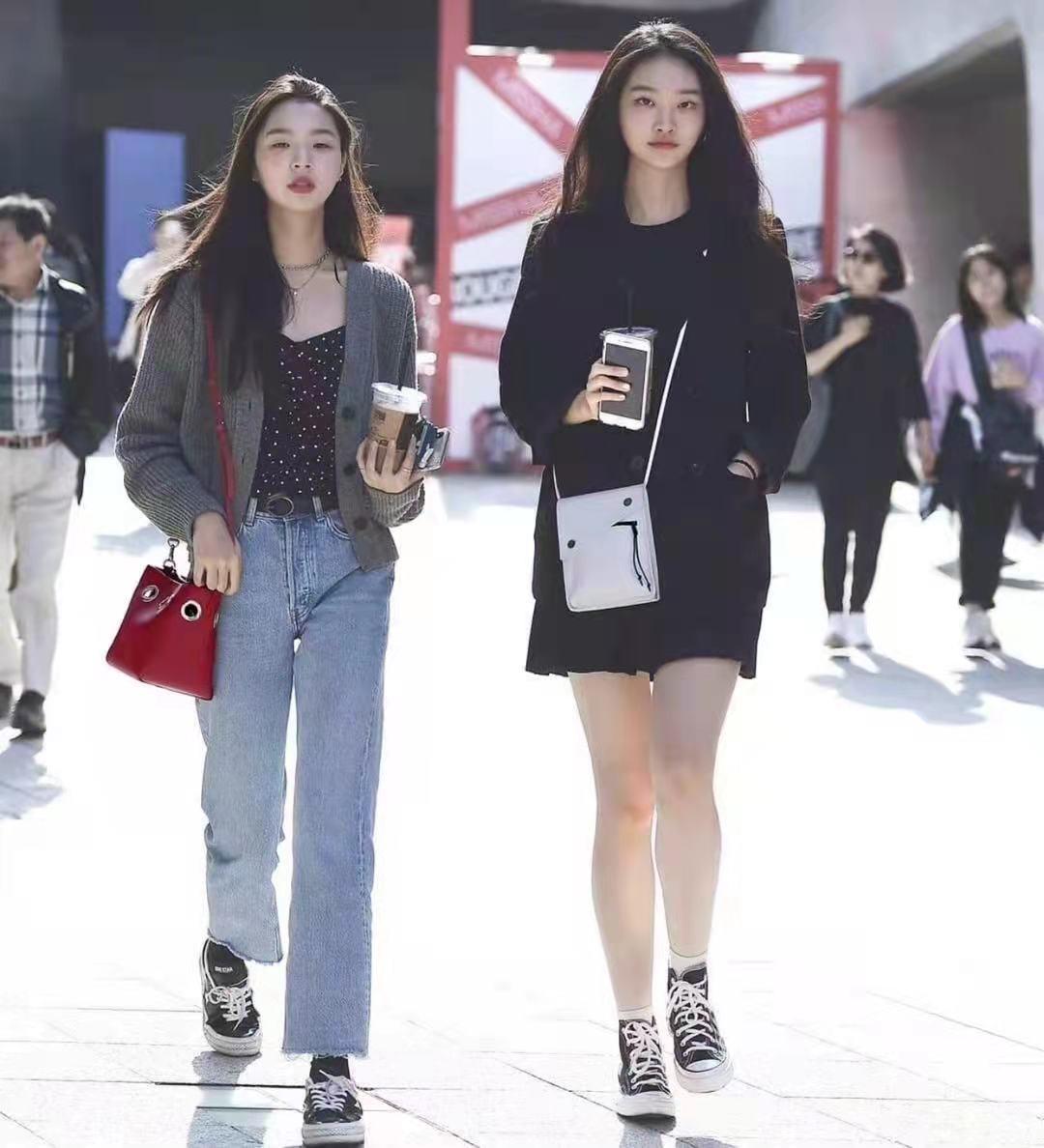 還是韓國街拍最自然,一點也不辣眼睛!穿搭簡約時尚值得借鏡 形象穿搭 第3張