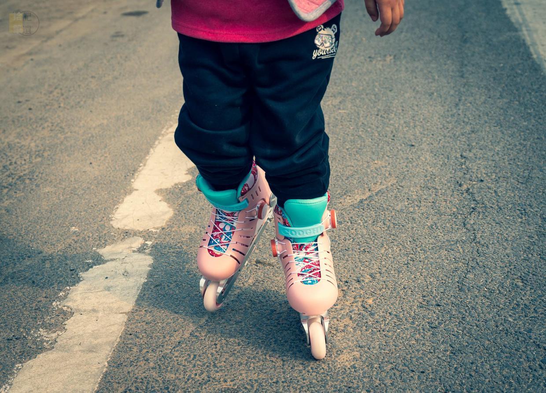 酷骑更适合小朋友的轮滑鞋,畅快玩耍更安全