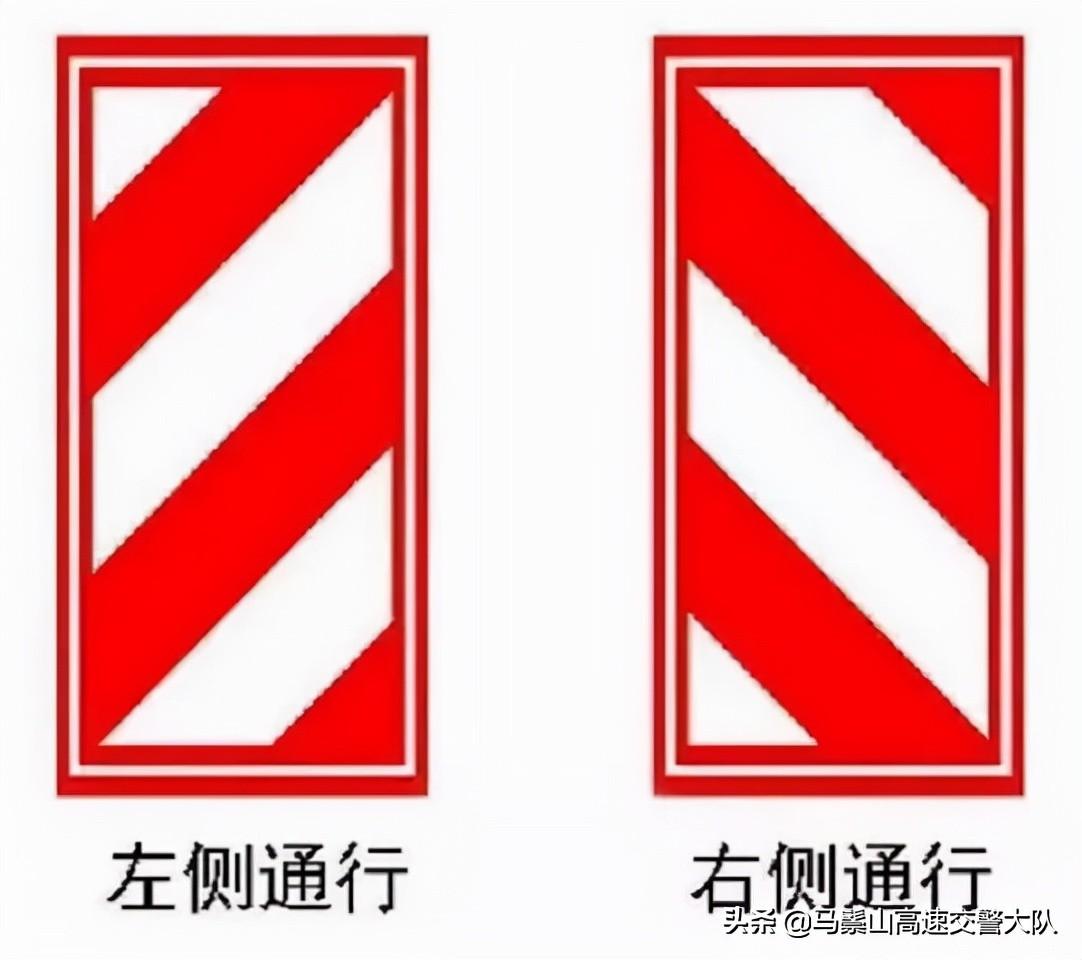 最容易混淆交通标志,你认得全吗?