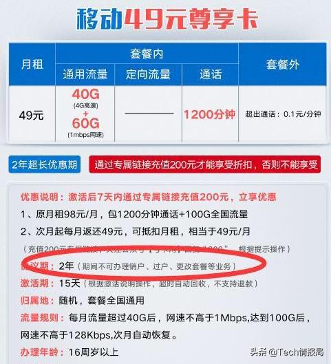 """中国移动力推的三款""""良心""""套餐,大流量低消费,老用户这样评价"""