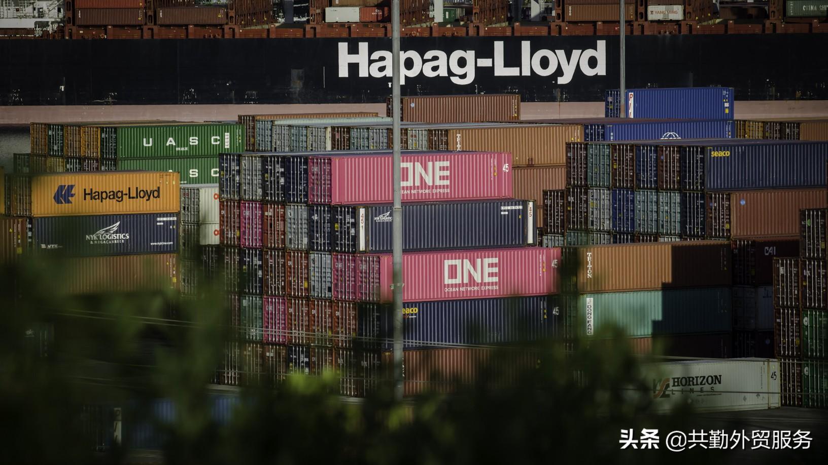 中国港口拥堵下降,美国港口拥堵激增