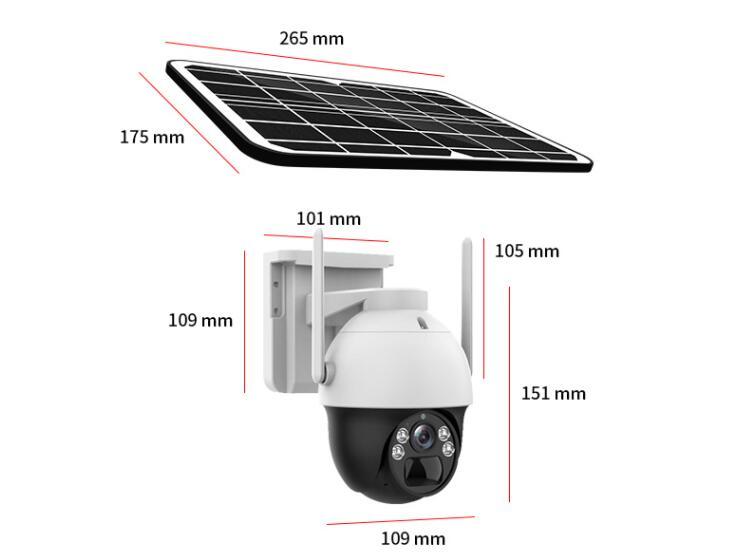 不用宽带无需插电 满电待机90天 翼联EDUP 4G太阳能监控为您守护安全