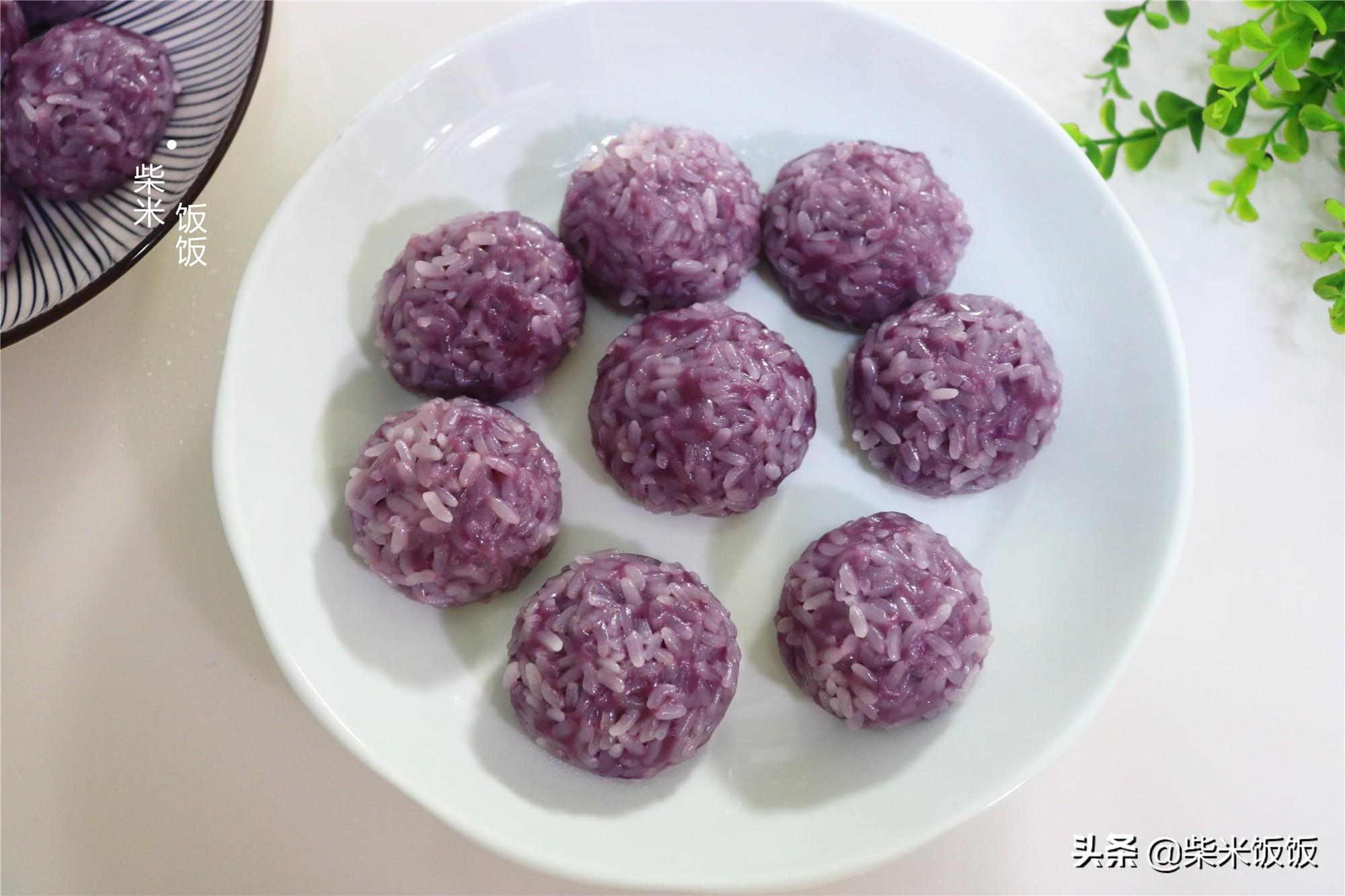 紫薯新吃法,多做一些放冰箱,吃的时候蒸一蒸,简单又营养